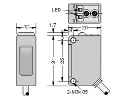 PF31V-D100BNS_克特_光电传感器